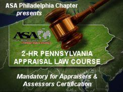 2-HR PA Appraisal Law Course