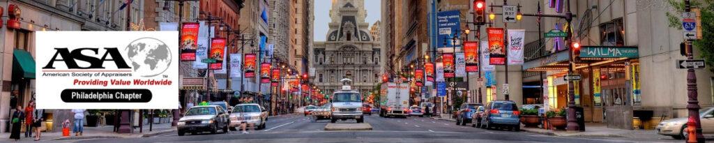Broad St Philadelphia looking toward City Hall