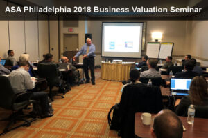 2018 Business Valuation Seminar