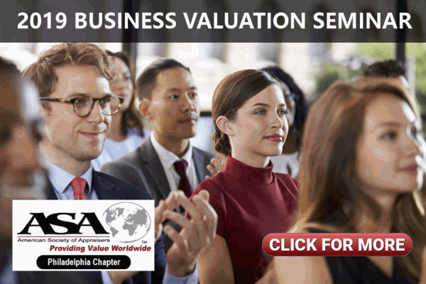 2019 Business Valuation Seminar