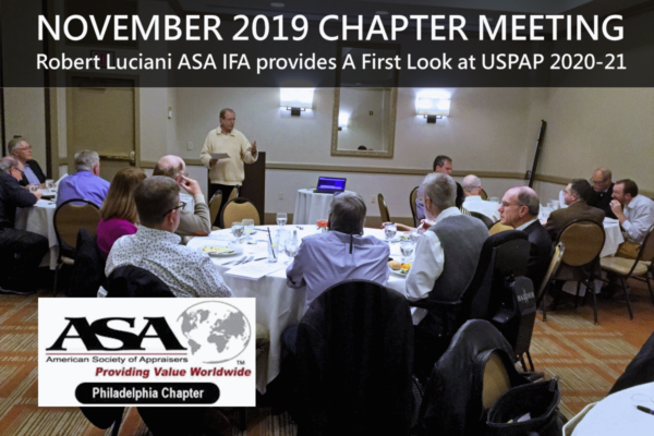 November 2019 Chapter Meeting
