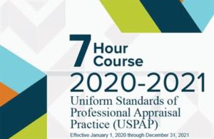 2020-2021 7-HR USPAP Update Course